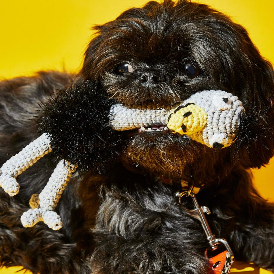 Ware of the Dog Crochet Ostrich