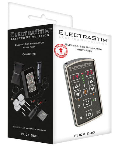 Electrastim Flick Duo Stimulator Multi Pack
