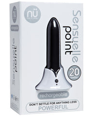 Sensuelle Point Rechargeable Bullet - Black
