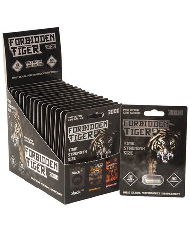 Forbidden Tiger 3000 - 1 Capsule Blister Box of 30