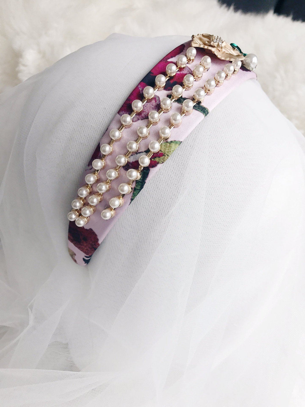 Blair waldorf Embellished Headband hairband gossip girl hair accessory formal bridal luxe hairstyle