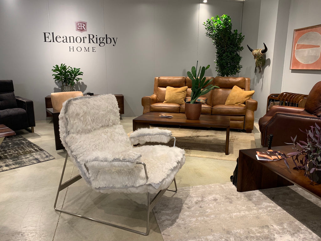 Eleanor Rigby Home was showing the Snoopy chair during fall High Point Market