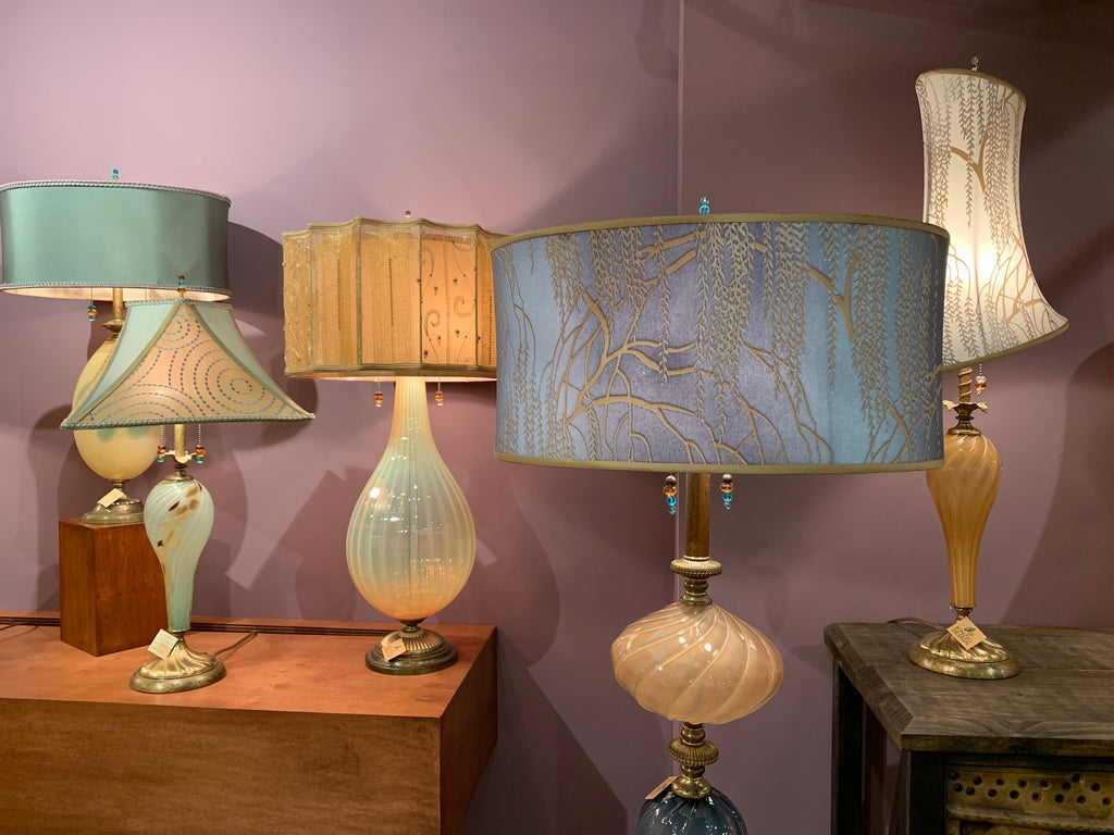 Kinsig Design lamps during Atlanta Market