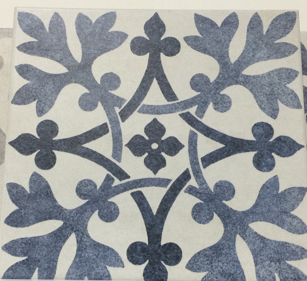 British Ceramic Tile brought this V&A pattern to Coverings
