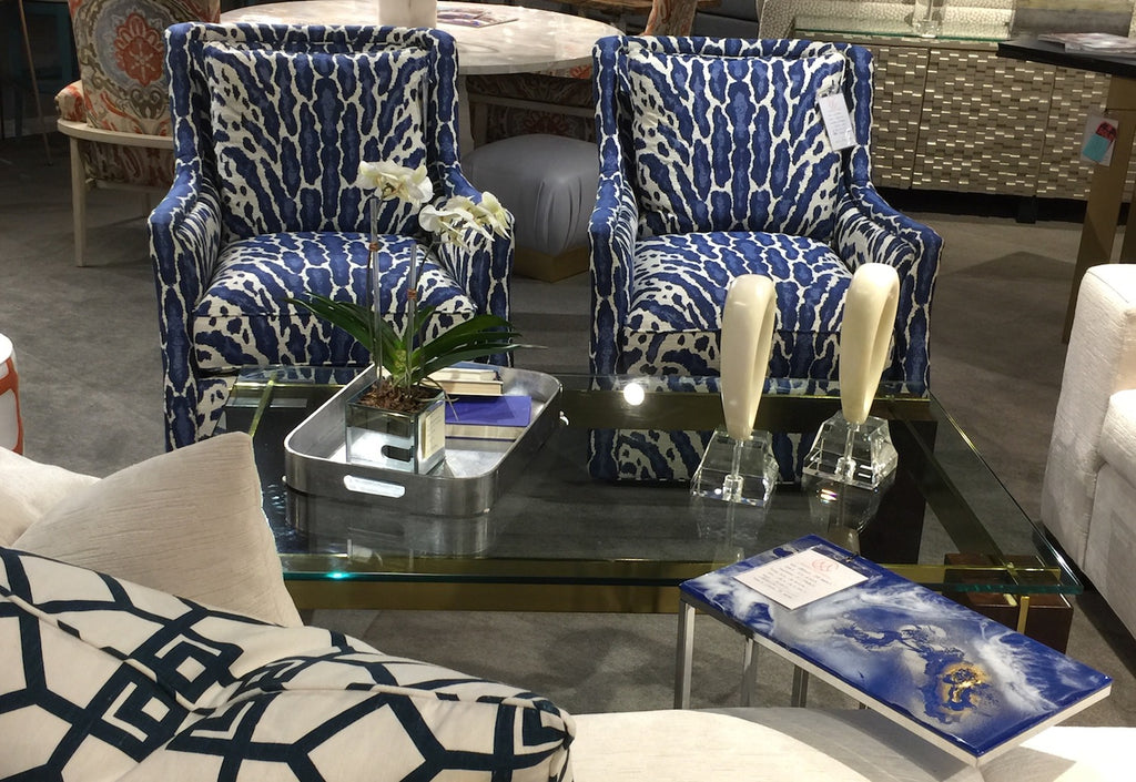 C Maddox & Company showroom holds CR Laine and TJ Garis furnishings