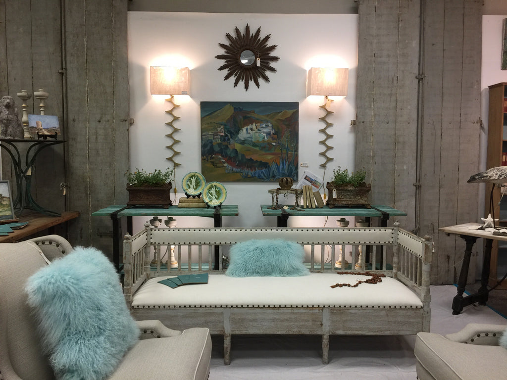 Benton Hayden & Associates brought antiques to AmericasMart