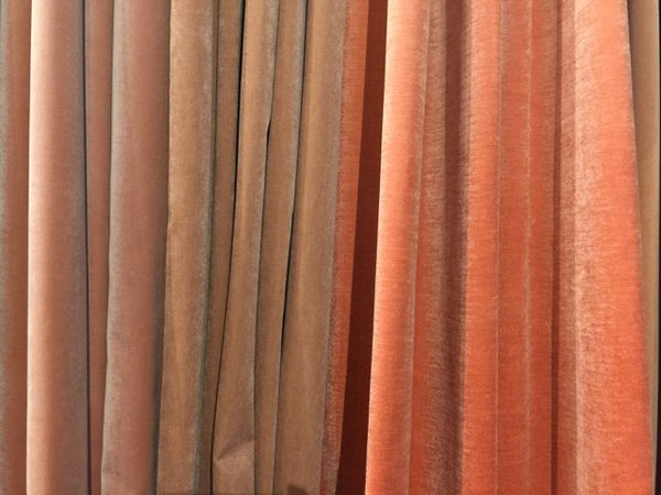 Cinnamon and rose hues at Heimtextile by Raymakers.