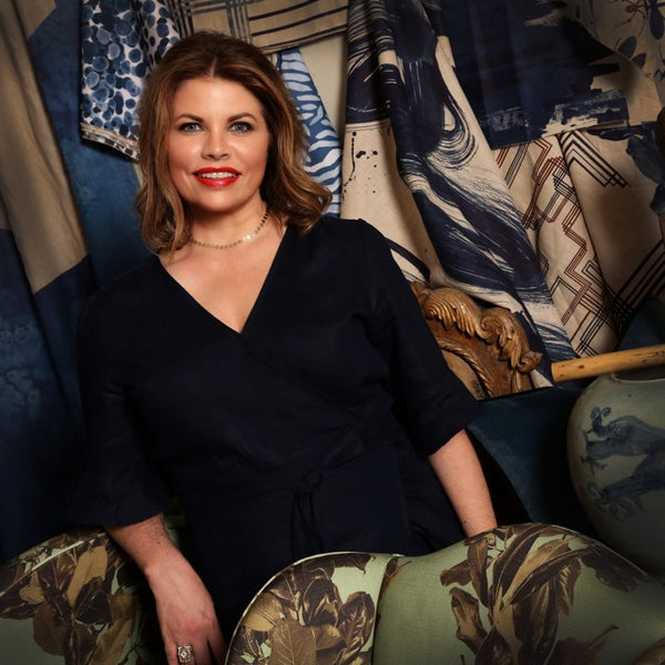 Denise McGaha debuts new fabric at High Point Market