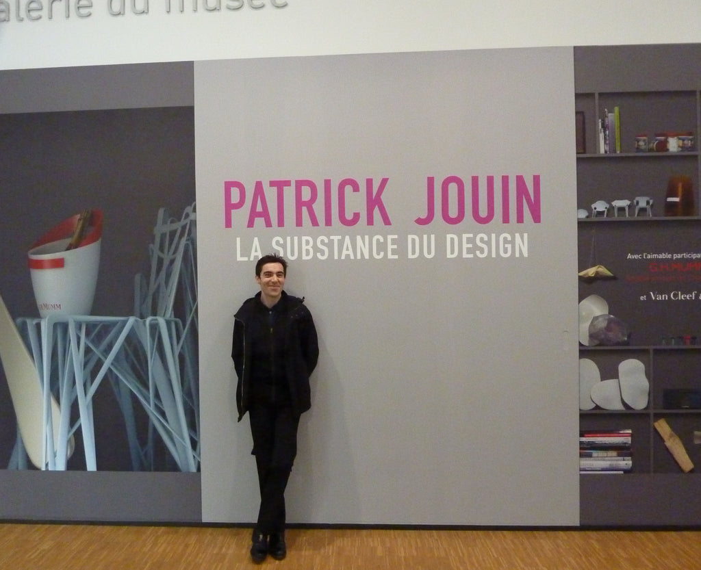 Patrick Jouin when I interviewed him at the Centre Pompidou in 2010.