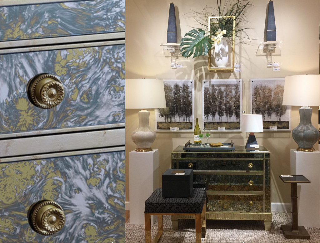 Port 68 brought the beautiful Belair chest to their showroom in AmericasMart