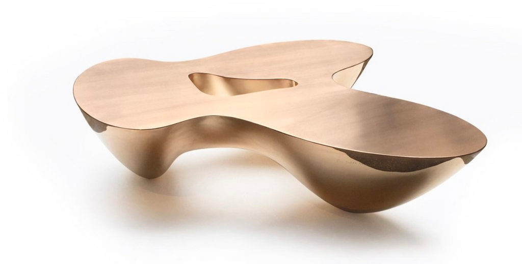 Quark Bronze Coffee Table