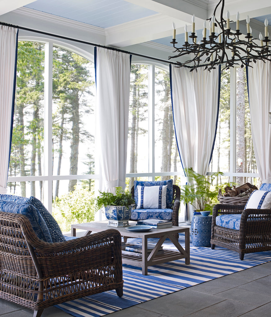A home in Port Clyde, Maine, designed by Suzanne Kasler