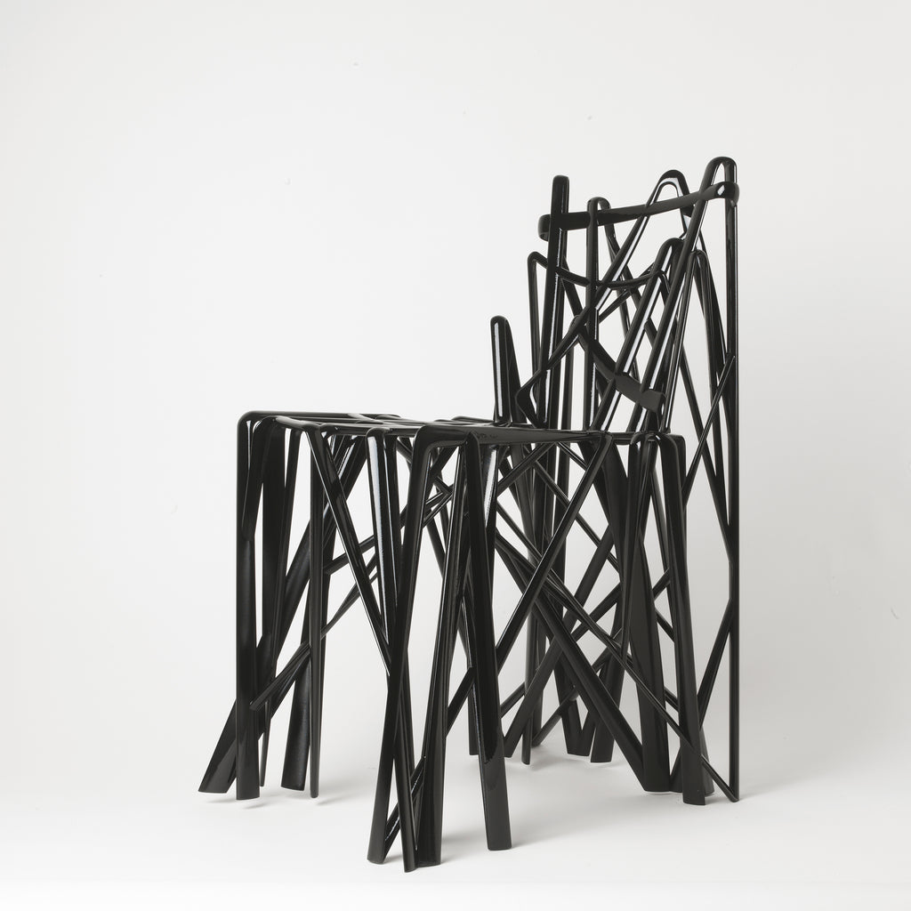 Solid C2 chair designed by Patrick Jouin and made by MGX Materialise.
