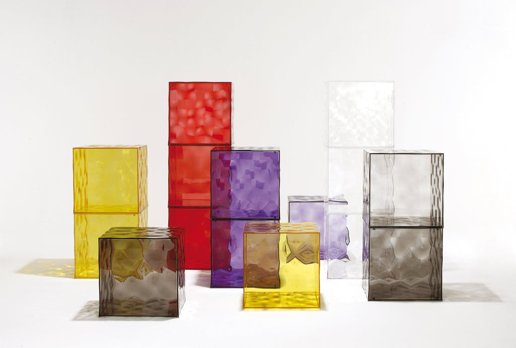 The Optic collection, which Patrick Jouin designed for Kartell.