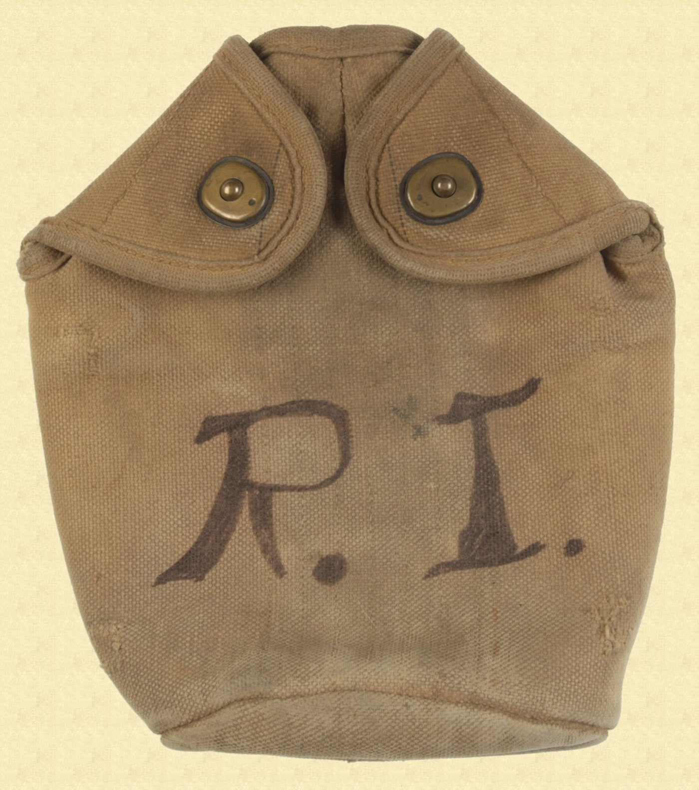 US M1910 MOUNTED CANTEEN COVER