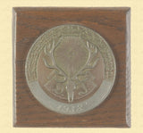 GERMAN HUNTING AWARD PLAQUE