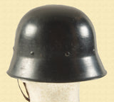 GERMAN WW2 FIRE POLICE HELMET