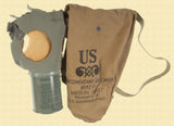 US WW2 M1A2 GAS MASK