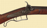 PERCUSSION HALF STOCK RIFLE