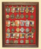 SHOOTING MEDAL DISPLAY