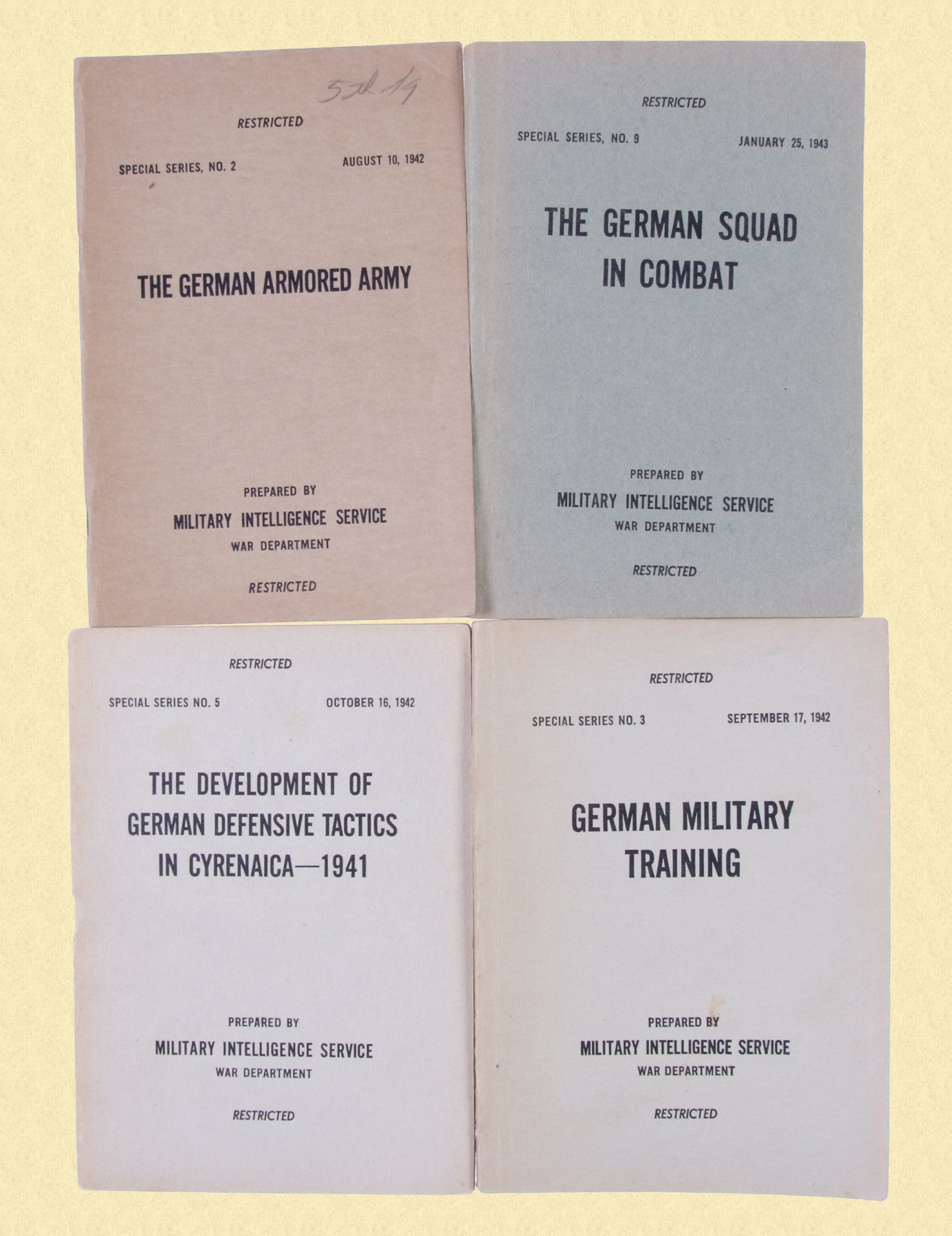 USGI WW2 FIELD MANUAL