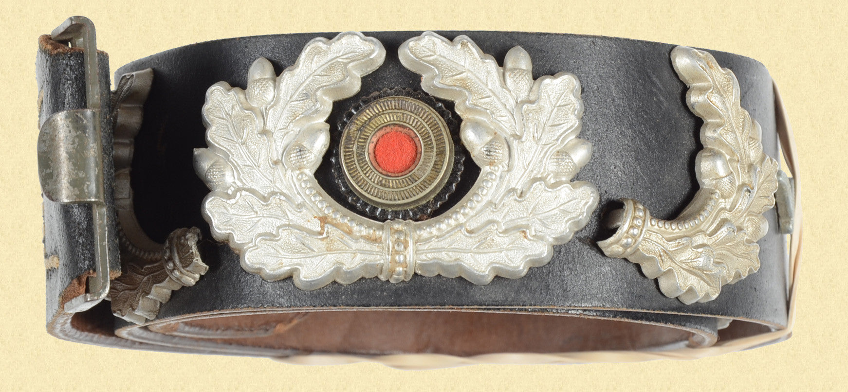GERMAN WW2 LEATHER BELT