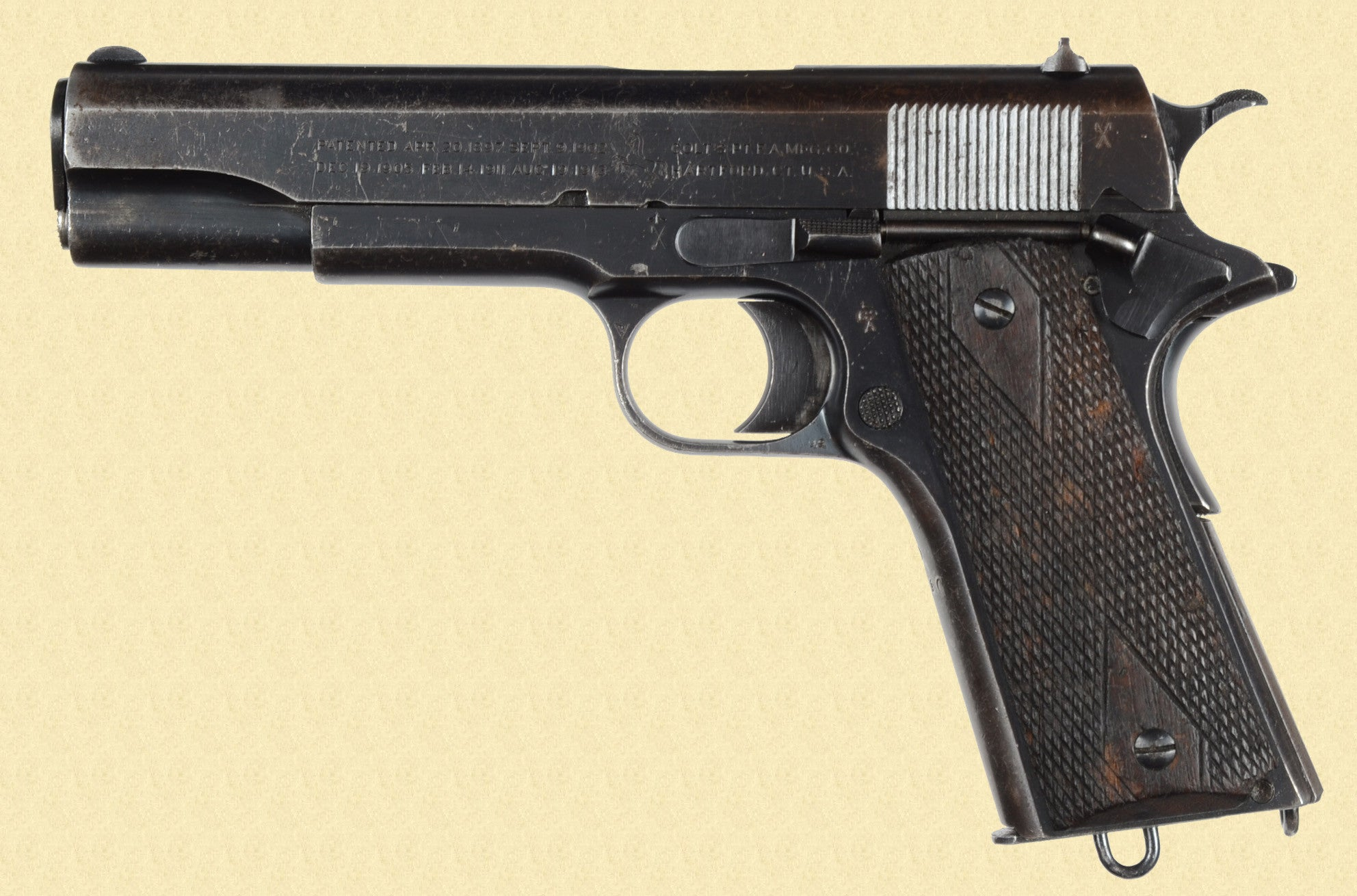 COLT GOVERNMENT MODEL 1911 BRITISH CONTRACT