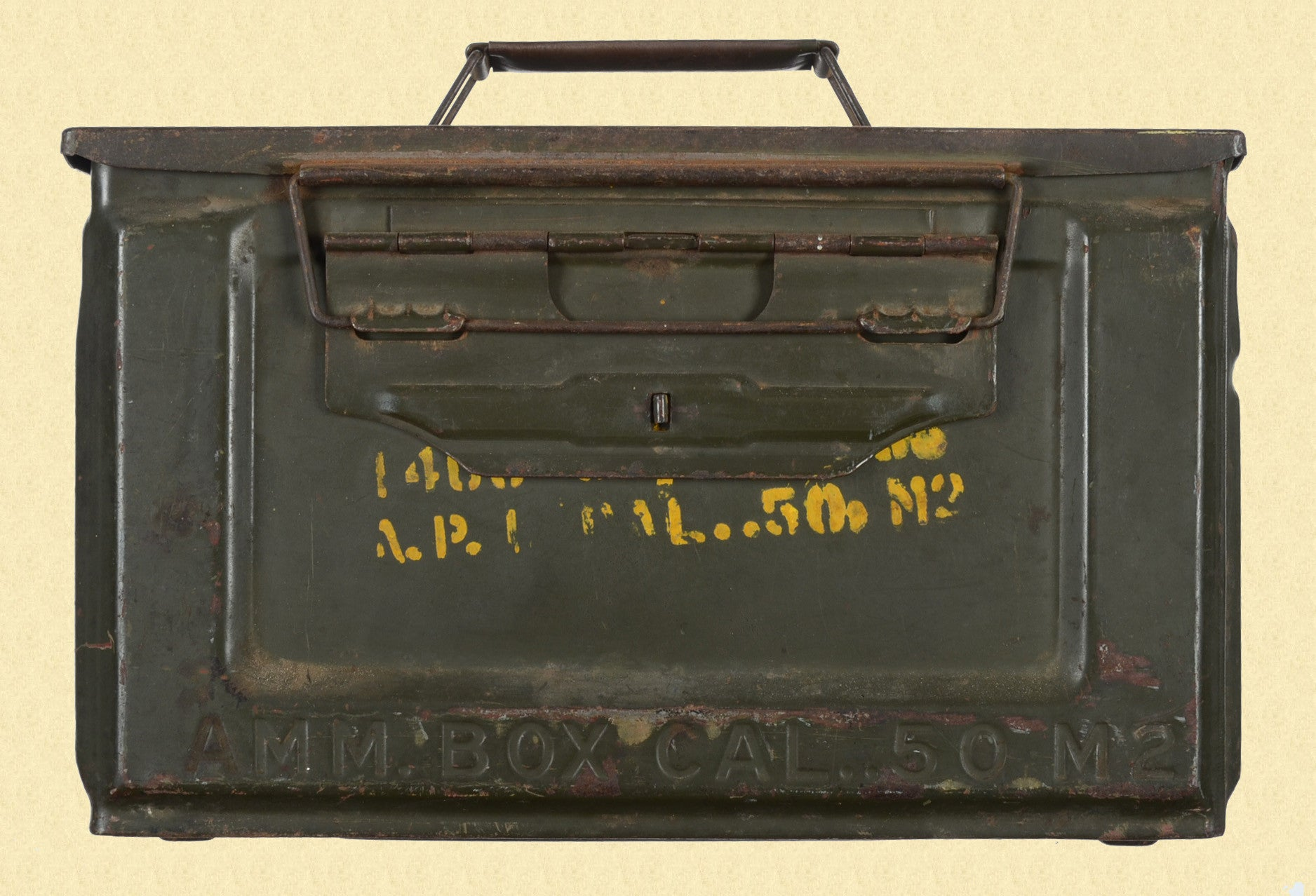 US WW2 50 CAL AMMO CAN