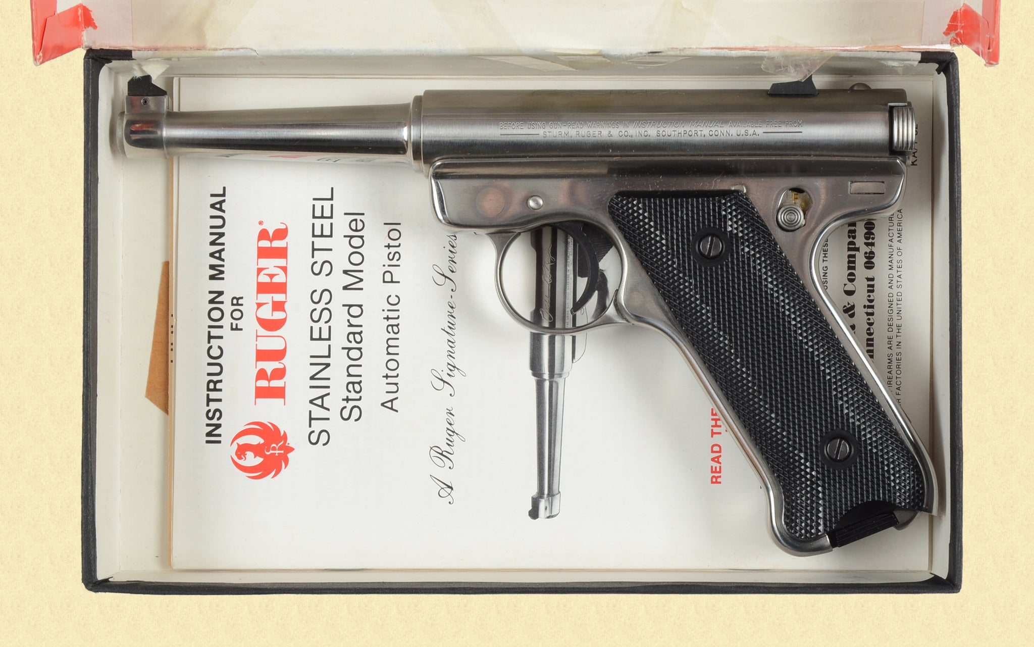 RUGER 22 AUTOMATIC PISTOL SIGNATURE EDITION