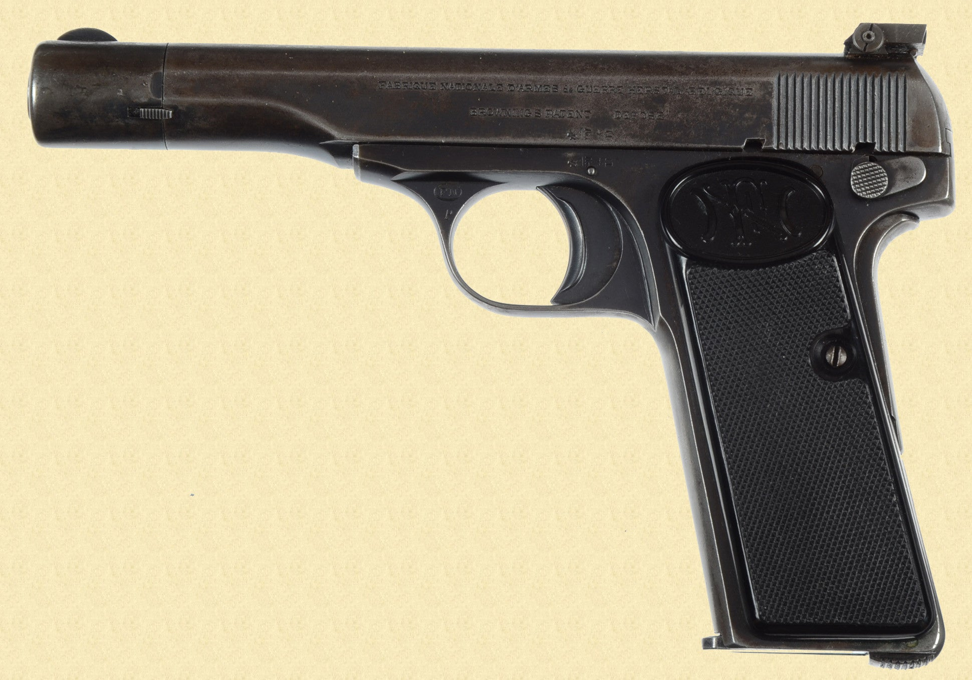 BROWNING FN MODEL 1922 MEXICAN CONTRACT