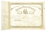 SPENCER ARMS COMPANY SHARE CERTIFICATE