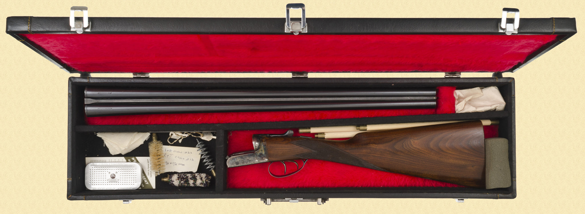 WEBLEY & SCOTT 700 DOUBLE