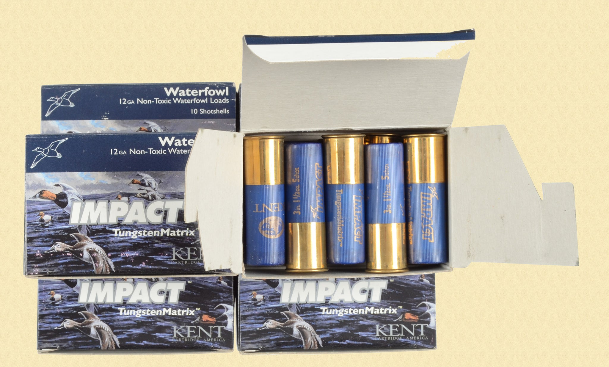 KENT CARTRIDGE CO 12 GAUGE SHOTSHELLS