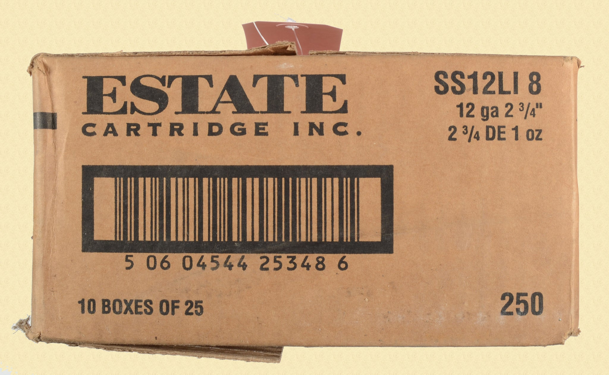 ESTATE CARTRIDGE INC 12 GAUGE SHOTSHELLS