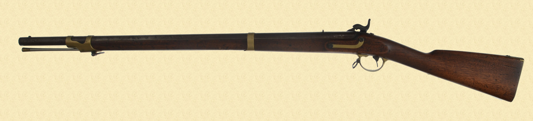 E. WHITNEY 1841 PERCUSSION RIFLE