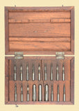MAUSER 7x57mm RIFLE BORE GAUGE SET