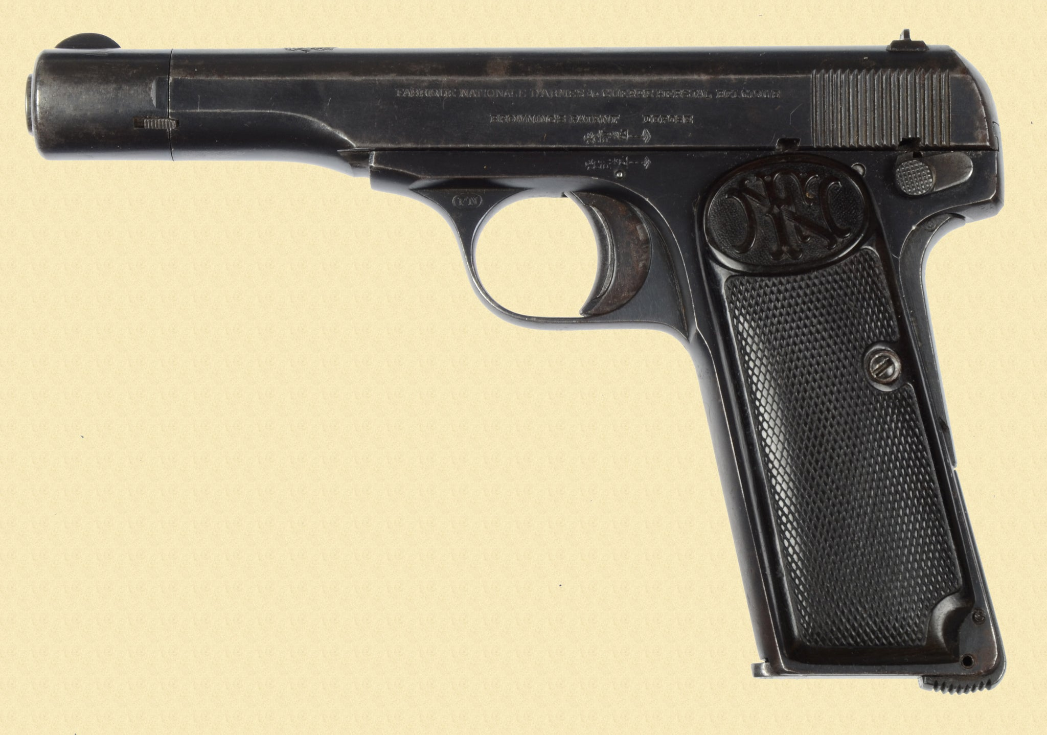 FN BROWNING 1922 YUGOSLAVIAN CONTRACT