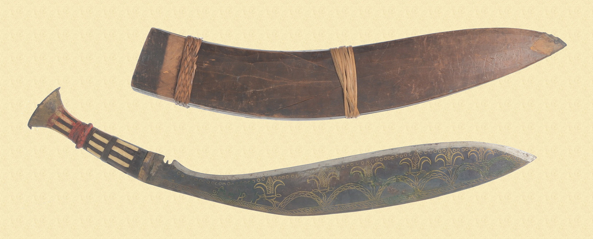 LAOTIAN CEREMONIAL KNIFE