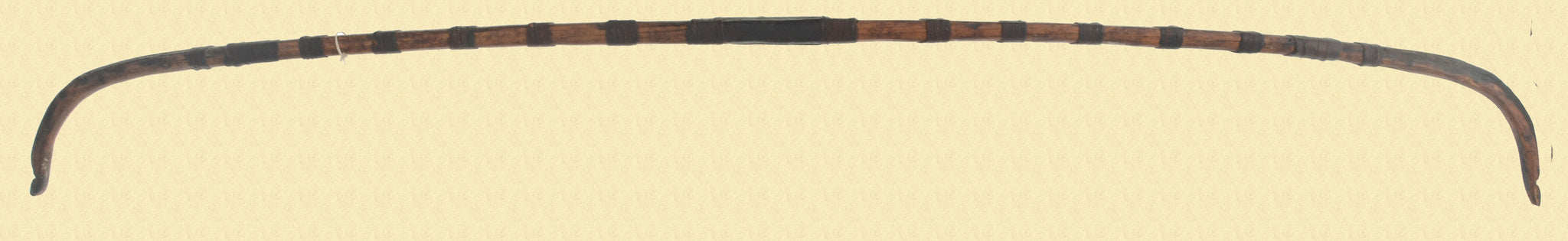 ANTIQUE WOODEN BOW