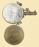 ANTIQUE POWDER FLASK