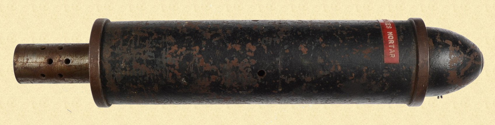 BRITISH STOKES MORTAR ROUND