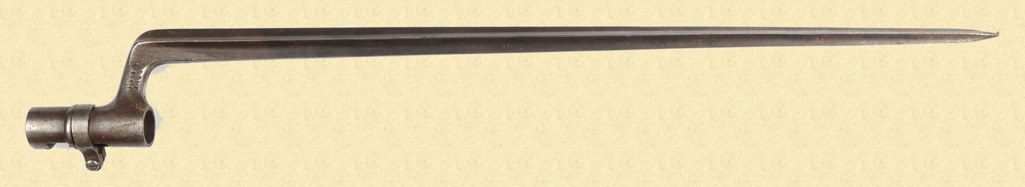 SWEDISH 1867 ROLLING BLOCK BAYONET
