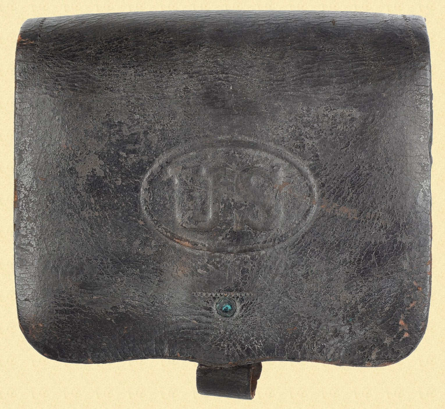 U.S. M1864 CARTRIDGE BOX