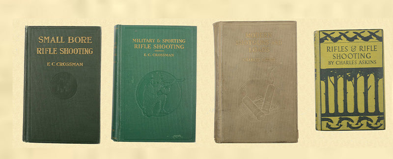BOOK LOT OF RIFLE SHOOTING-MILITARY-SHOTGUN BOOKS