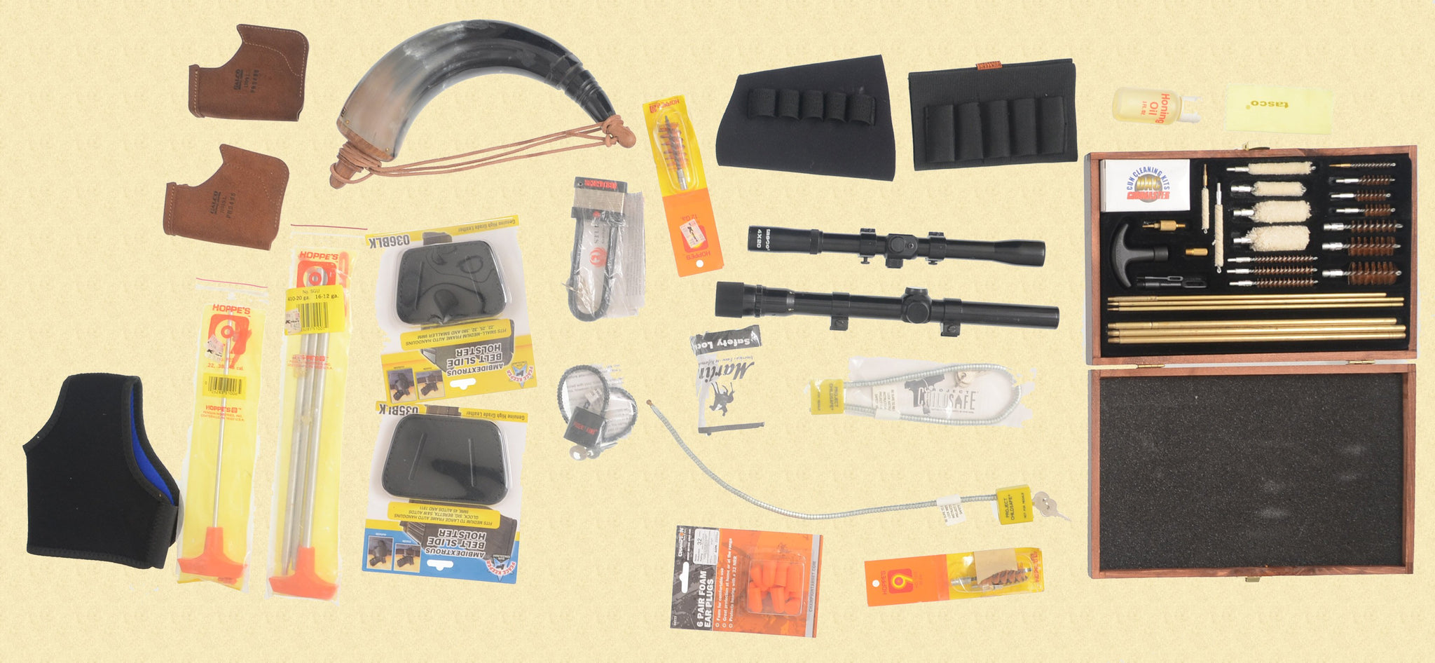 MISCELLANEOUS SHOOTING ACCESSORIES