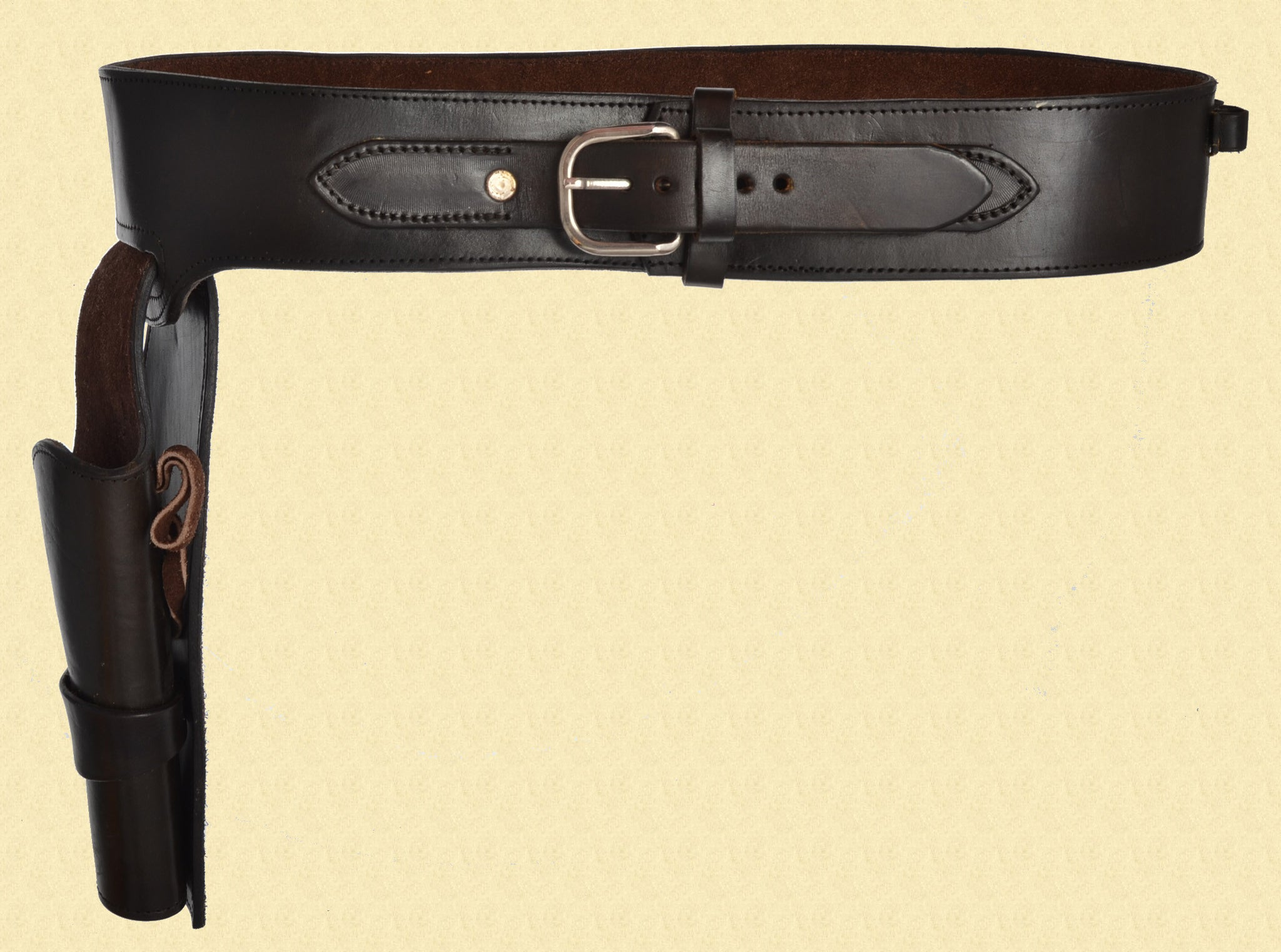 LEATHER COLT SAA BELT RIG