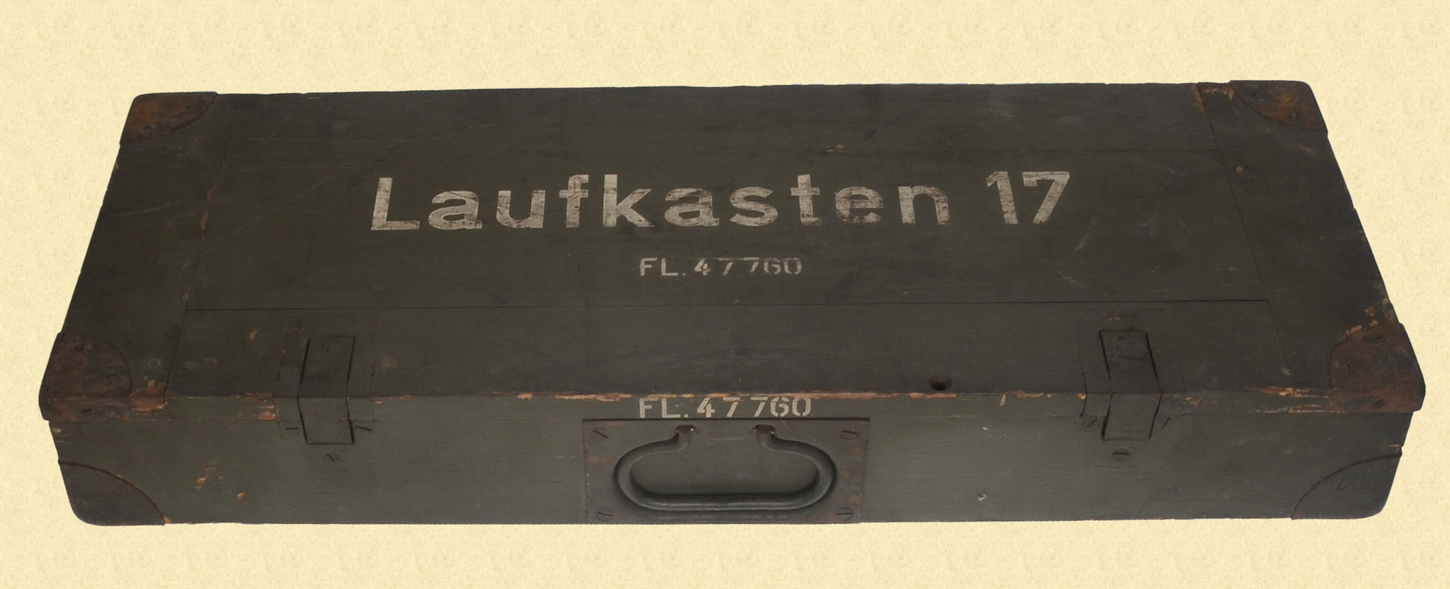 GERMAN WW2 LUFTWAFFE MG BARREL TRANSIT BOX