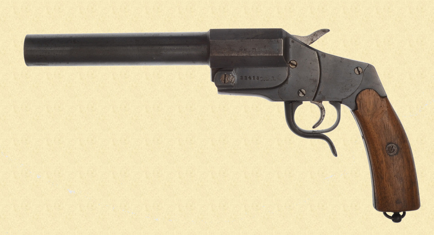 GERMAN WW1 1894 HEBEL SIGNAL PISTOL