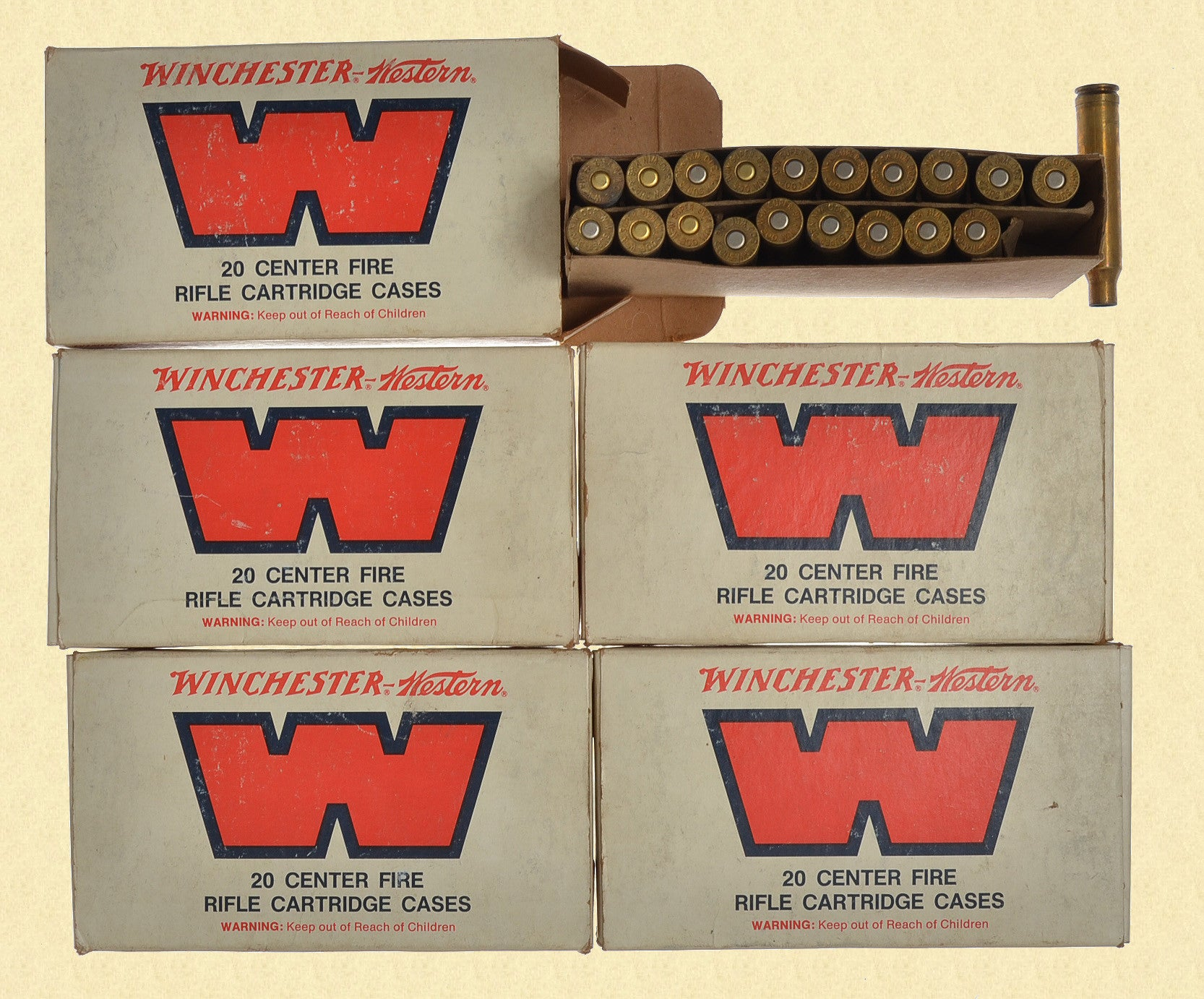 WINCHESTER 300 MAGNUM CARTRIDGE CASINGS