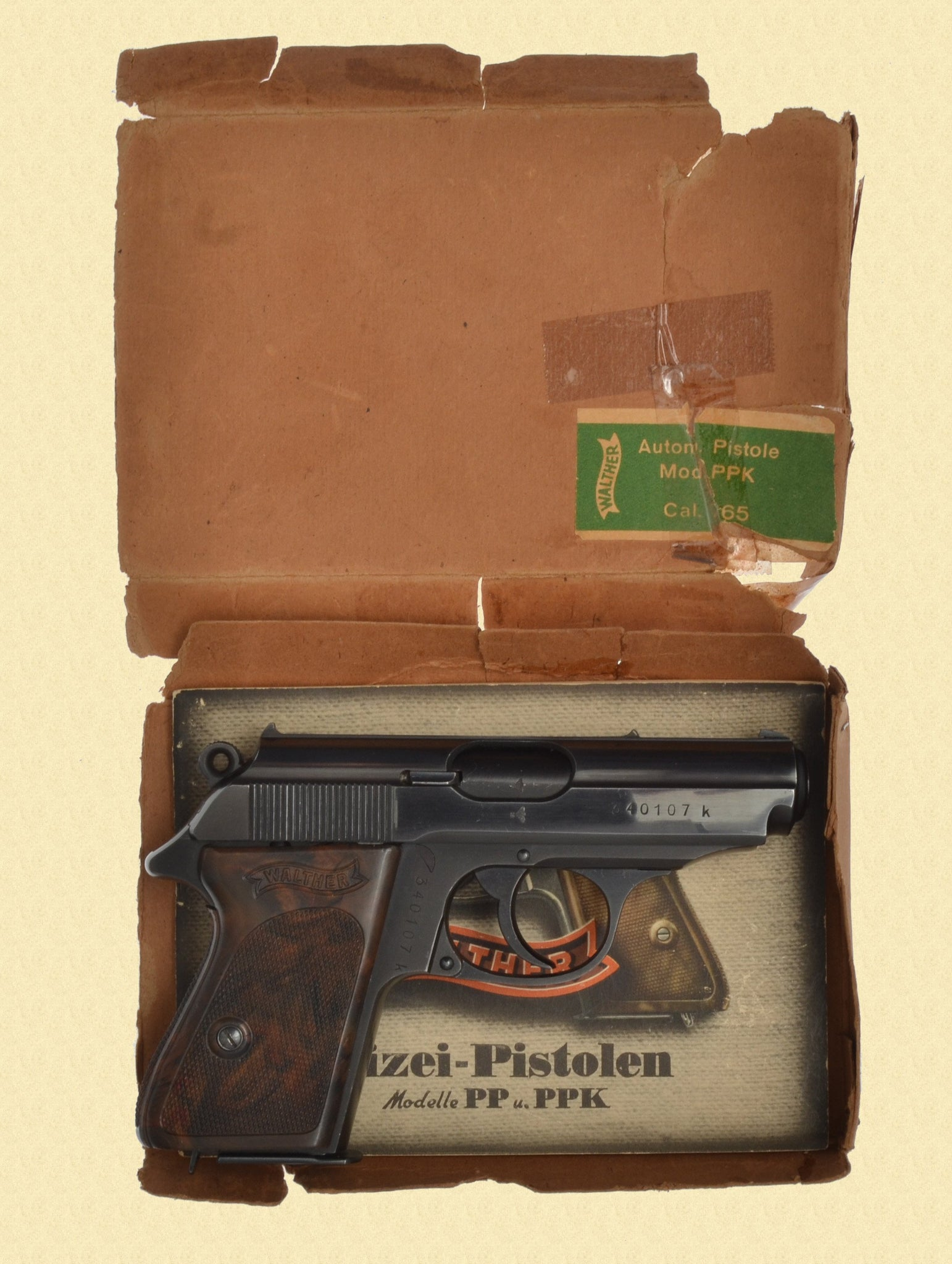 WALTHER PPK POLICE